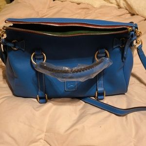 SOLD/NWT Dooney & Bourke Med Raleigh Dusty Blue